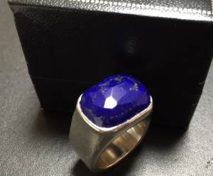 My Lapis Lazuri Ring